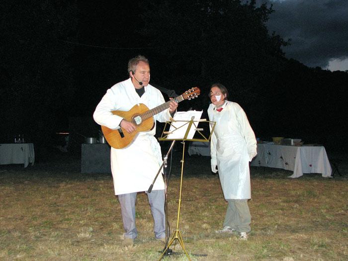 Prologue chanté : Éric et Jeanne PIERRARD.