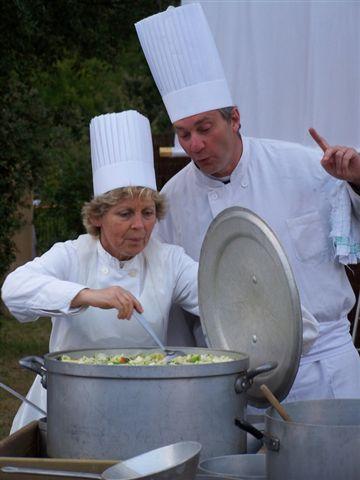 Éric PIERRARD, Chef Cuisinier - Brigitte Vincent, Marmitonne.