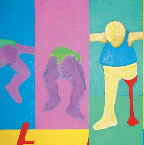 Joël Unal, peinture