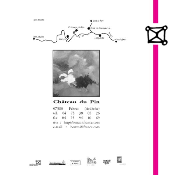 Plan d'accès au Château du Pin