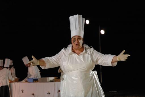 """Miam !"" Séquence cuisine. Valérie Béal."