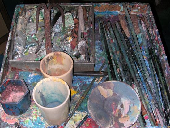 Palette utilisée par Colette Bonzo