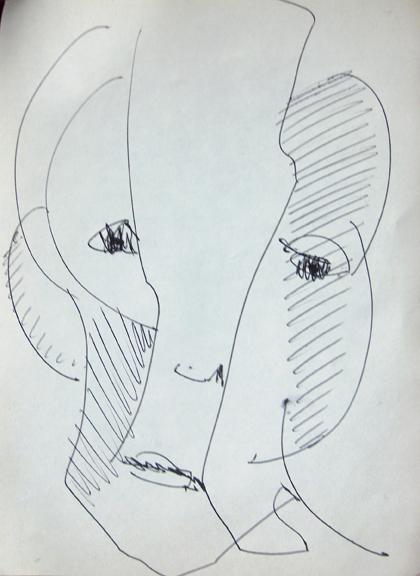 Hubert Stérin, dessin.