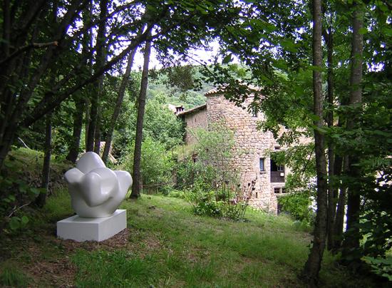 Jean-Bernard Millau, sculpture.