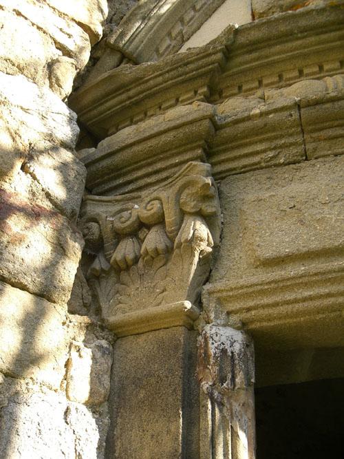 Porte Renaissance, détail.
