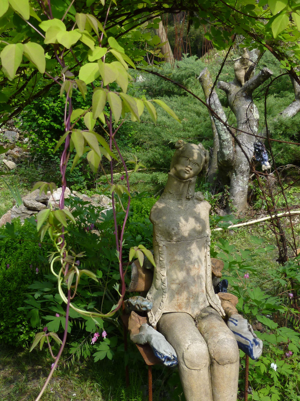 Sculpture de Martine Diersé