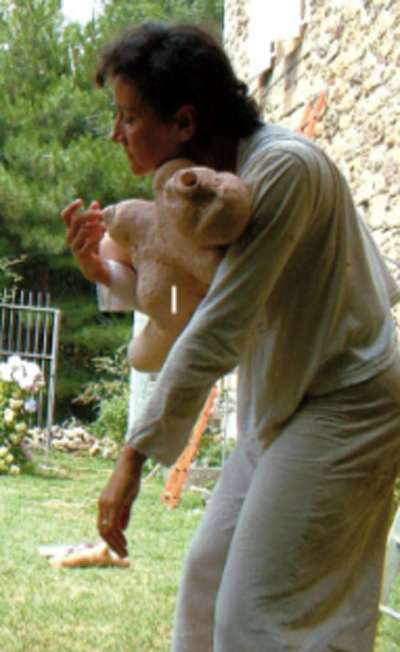 "Sylvie Molina, ""Verticale 4"", création danse."