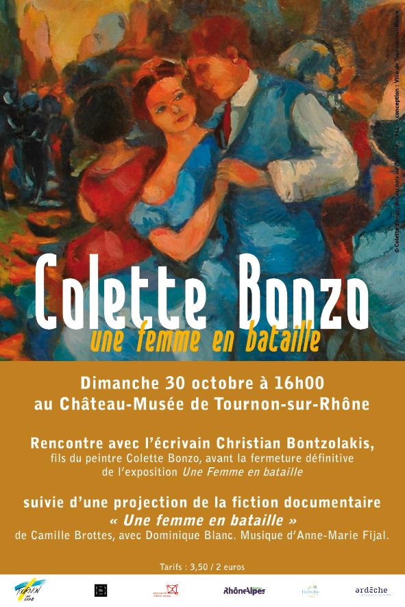 Visite guidée de l'exposition Colette Bonzo