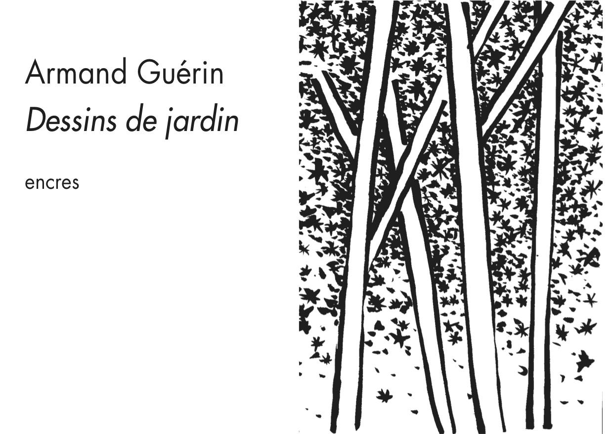 """Armand Guérin, """"Dessins de jardin"""""""