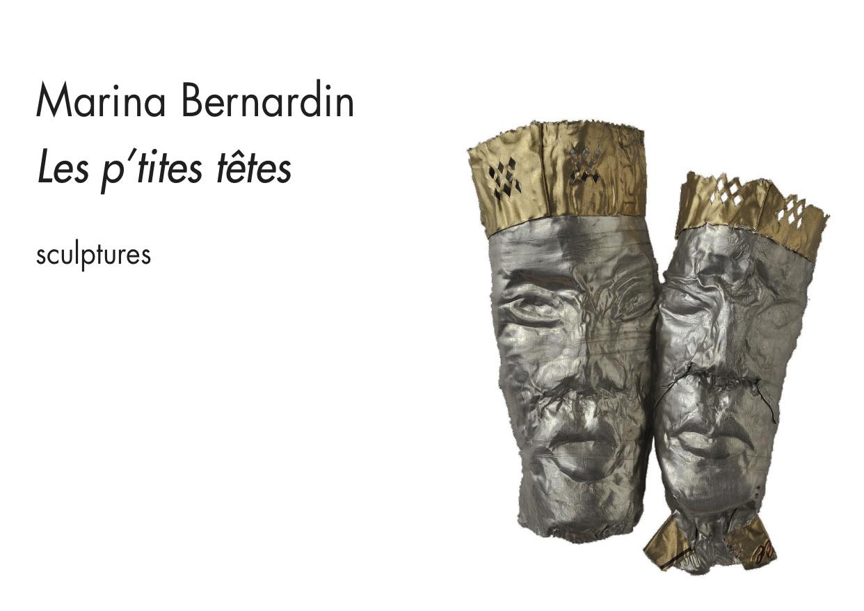 """Marina Bernardin """"Les p'tites têtes"""""""
