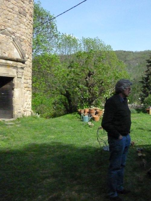 Giuseppe Penone / Château du Pin / Avril 2011.